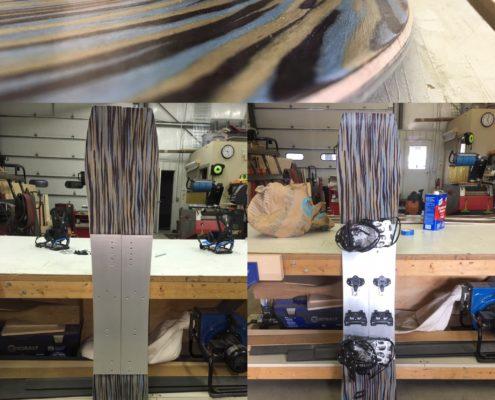 My Split! Brookside composite veneer with Titanal mid-section and Karakoram components