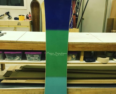 Tailor made Franco snowboard