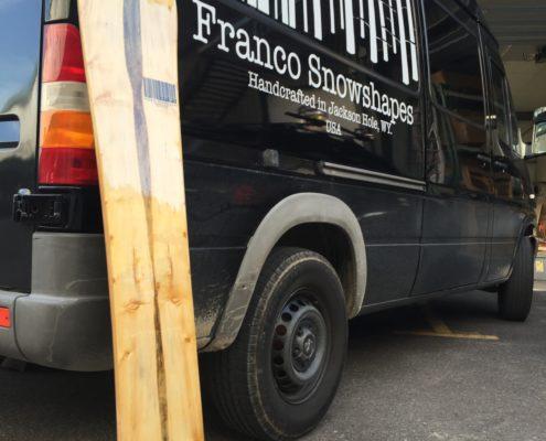 Franco custom snowboard
